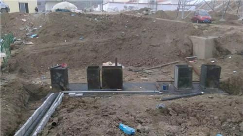 甘肃污水处理施工现场