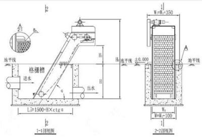机械格栅图